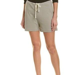 James Perse Grey Drawstring Rainy Shorts Medium